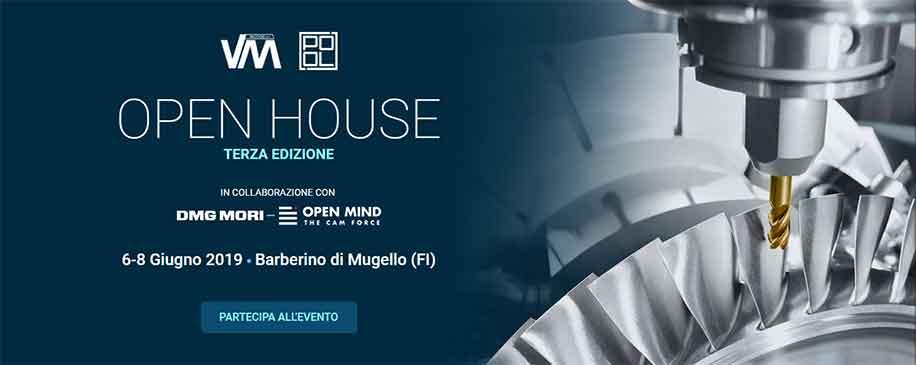 Open House di VM Macchine srl e Pool srl